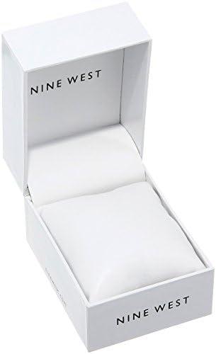 Nine West Women's NW/1922 Mesh Bracelet Watch 3