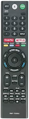 New Replace Bluetooth Remote RMF-TX300U Sub RMF-TX200U RMF-TX201U Voice Control have compatibility for Sony Smart 4K TV 149331811 XBR-55X850S XBR-55X930D XBR-65X850D XBR-65X930D XBR-75X850D XBR-75X940D XBR-85X850D