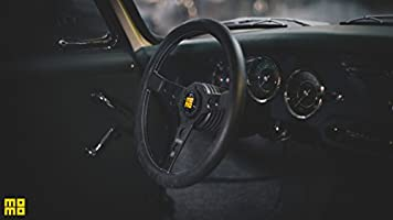 Momo PRH35BK2B Steering Wheel Prototype Heritage Leather Black