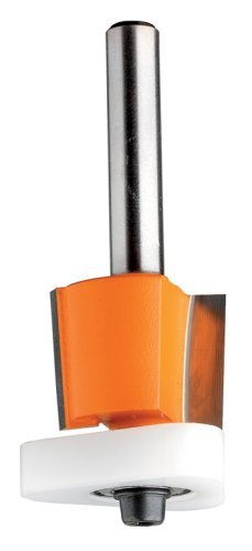 CMT 80712811 3-in-I Flush Trim Bit for MDF Laminates 14-Inch Shank 12-Inch Cutting Length