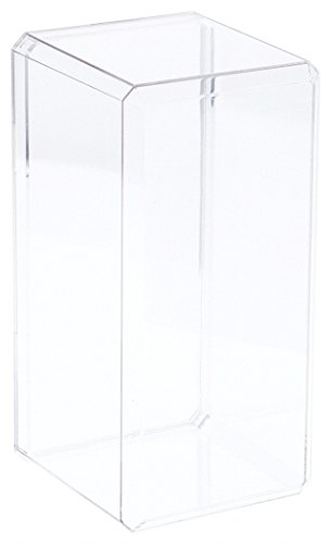 Pioneer Plastics Clear Acrylic Display Case (with Beveled Edge) 4.375