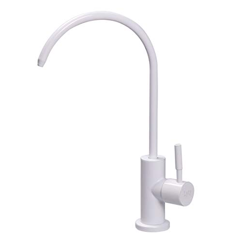 Lead-Free Stainless Steel Beverage Faucet Cold Water Bar Sink Drinking Water Filtration System Water Filter Purifier Faucet Brushed Nickel ()
