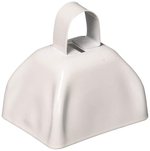 Wholesale White Cow Bells (1 dozen)