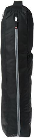 Manduka Go Light Yoga Mat Carrier Bag with Pocket, Adjustable Strap, Suitable for most Yoga Mats