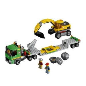 משחק לגו- LEGO City Excavator Transport 4203