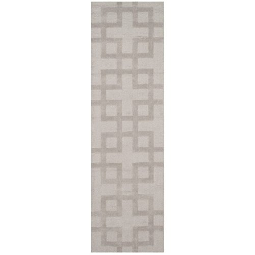 (Safavieh Impressions Collection IM311A Handmade Grey Premium Wool Square Area Rug (6' Square))