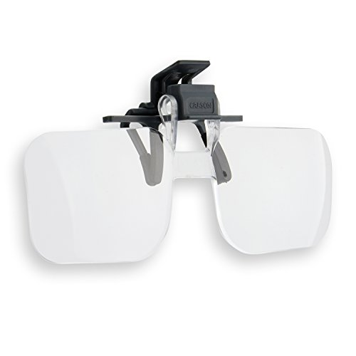 Carson Optical Clip and Flip 1.5x 2.25 Diopters Magnifying - Coupons Glasses.com For