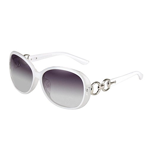 Weixinbuy Women's Retro Eyewear Oversized Square Frame Sunglasses White Oversized Womens Plastic Sunglasses
