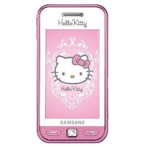 Samsung Quad Band Phones (Samsung S5230 Hello Kitty Pink Unlocked GSM QuadBand Cell Phone)