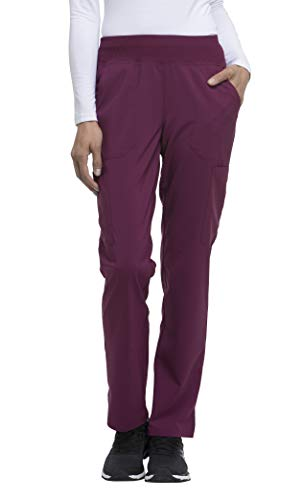 Women's EDS Essentials Natural Rise Tapered Leg Pull-On Scrub Pants (Uniforms Dickes Women)