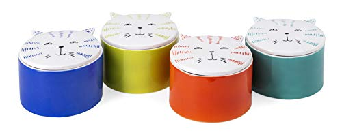 Imax Lidded Box - Imax Felix Ceramic Lidded Cat Boxes - AST 4
