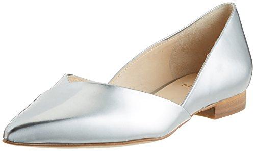 Högl 3-10 2014 7600, Bailarinas para Mujer Plateado (silber7600)