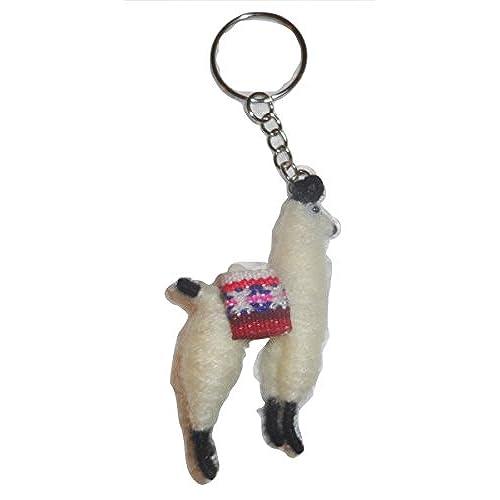 new Wool Cuzco Peru Llama Key Chain Souvenir - zimmert at