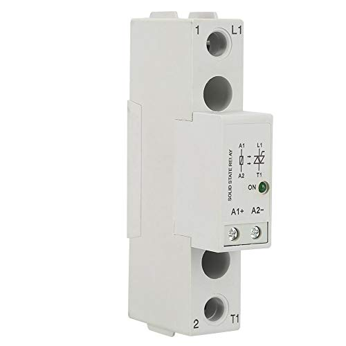 Din Rail Solid State Relay Board,SMT48 DC Control AC SSR Relay Switch Module (SMT4810)