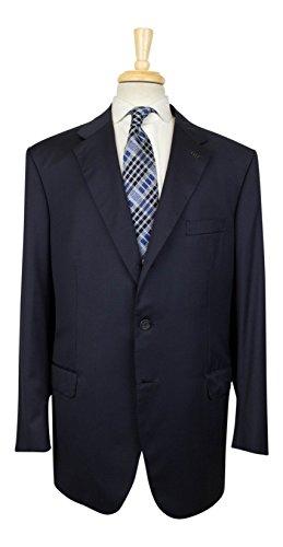 brioni Parlamento 21 Navy Blue Super 150s Wool 3/2 Button Suit 59/49R - 150s Wool 3 Button Suit