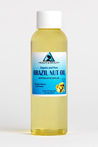Brazil Nut Oil Organic Carrier Cold Pressed Natural Fresh 100% Pure 2 - Usps Brazil