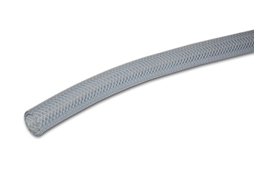 UDP T12004002 Clear Braid Tubing 3/8ID X 5/8OD X 100 ft Dispenser Box