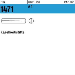 100 Kegelkerbstifte DIN 1471 1.4305 3x25 rostfrei A1 Niro Edelstahl verschiedene
