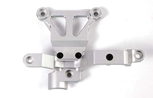 (Part & Accessories NEW GDS RACING X-Maxx Upgrade Parts Steering Bellcrank Support silver )