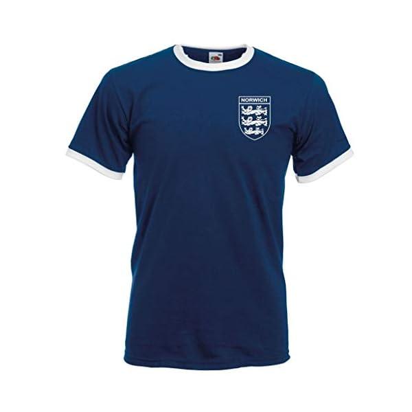 Norwich City Football T-Shirt