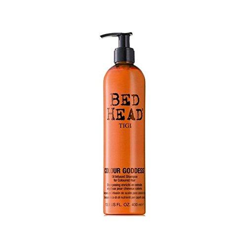 ティジーベッドヘッドカラー女神シャンプー(400ミリリットル) x4 - Tigi Bed Head Colour Goddess Shampoo (400ml) (Pack of 4) [並行輸入品] B072L43HKM