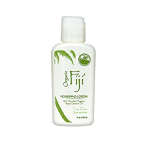 Organic Fiji Coconut Oil Moisturizer, Tea Tree Spearmint, 3 Ounce