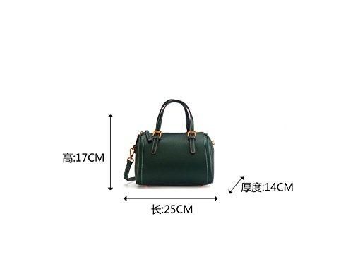 Cuir Bandoulière Xddb En Green Bag Simple Sac À Messenger xqxSXZEA