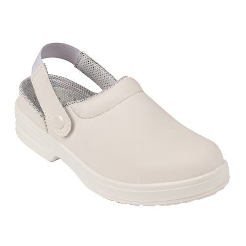 Lites Safety Footwear A812-37 White Unisex Clogs CFDQ4zR7