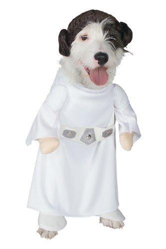 Rubies Costume Star Wars Collection Pet Costume, Princess Leia, -