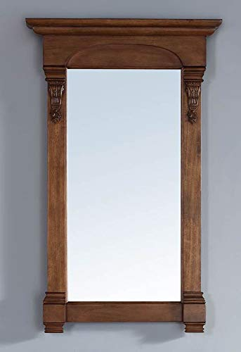 (James Martin Vanities 26 in. Mirror in Country Oak)