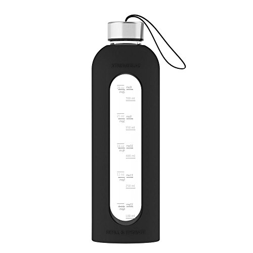 reusable glass water bottle - 8
