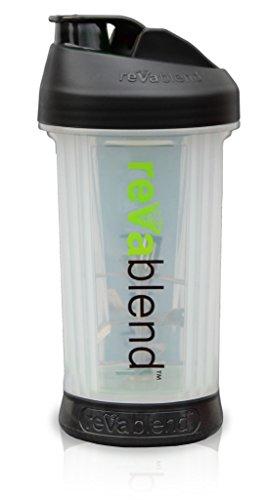 9. Revablend Portable Blender, 16 Ounce, Black