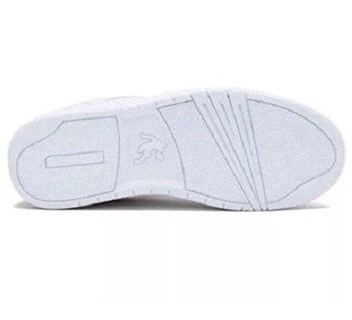 And1 Voorzienigheid Lage Retro Basketbalschoenen Wit