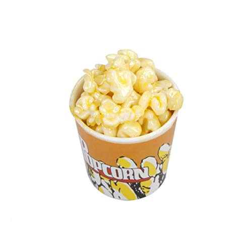 Kitchen Toys - 1 6 Dollhouse Miniature A Bucket Of Popcorn Toy Pretend Play Early Education Kids Baby Toys - Size Kitchen Electric Market Kids Mouse Tikes Taco Baking Plates Toddlers Accessor