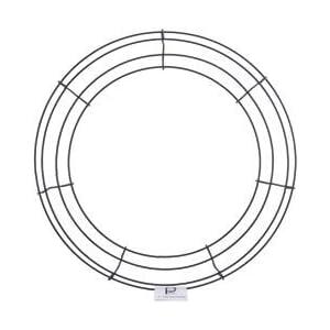 "Bulk Buy: Panacea Wire Wreath Frame 14"" Green 36004 (10-Pack) 40"