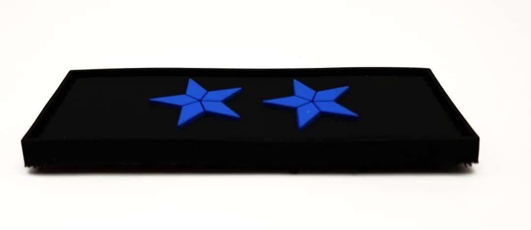 Polizeimemesshop Zoll Obersekret/är Dienstgrad PVC Patch