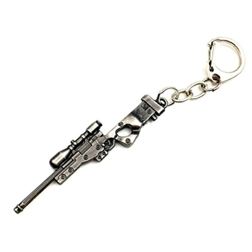 1 Pc Mini Pocket Rifle Gun Keychain Keyring Keyfob Soldier Warrior Police Cop Shooter Weapon Pendant Keys Chains Rings Tags Strap Wrist Eminent Popular Cute Wristlet Utility Keychains Tool, (Celtic Warrior Jewellery)