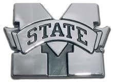 NCAA Mississippi State Bulldogs Chrome Automobile Emblem ()