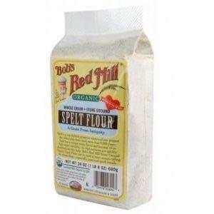 Bob's Red Mill Flour, Og, Spelt, 24-Ounce (Pack of 4)