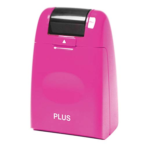 Plus Guard Your ID Roller Stamp, Pink
