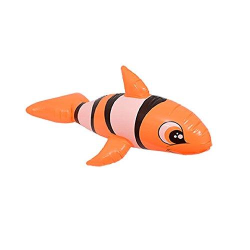 Splash-n-Swim Inflatable Kids' Ride On Pool Animals Toy 36