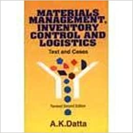 Amazon in: Buy Materials Management Inventory Control And