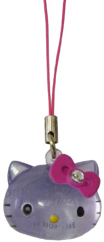 """Tomy Hello Kitty Crystal Charms ~1.25"""" - Pink Bow"""