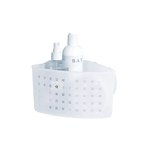 mDesign Suction Bathroom Shampoo Conditioner product image
