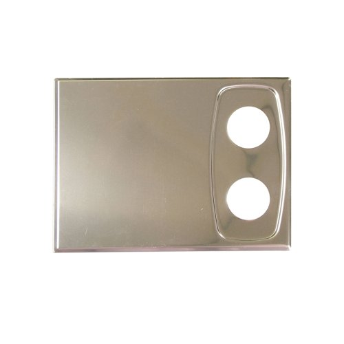 WingIts BCSR-SNM Crescent Satin Stainless Steel Cover Plate (Set of ()