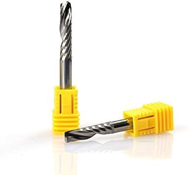 6X12X50L Schaftfr/äser Oberfr/äser 1 x Spiralfr/äser CNC-Schaftfr/äser CNC-Maschine XBF-TOOL Wolframcarbid 1 x 6 mm Schaft