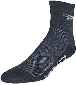DeFeet D Logo Wool-E-Ator Socks - Charcoal, Medium