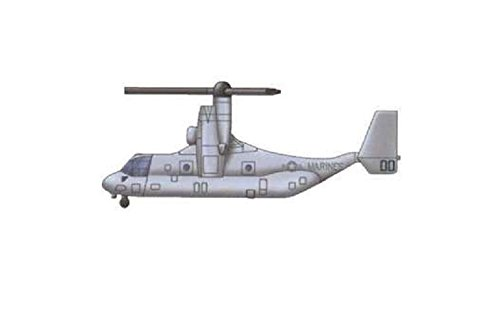 Trumpeter MV-22 Osprey Model Kit