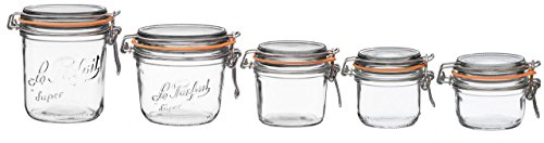 Le Parfait French Super Terrine Wide Mouth Jar Bundle Variet