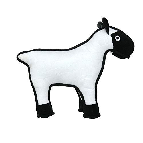 - TUFFY Barnyard Animal Sheep, Durable Dog Toy, Large